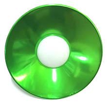 Лампа LED IP65 + метал. отражатель 10W E27 800LM 6500K зеленый/ LM708