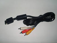 AV кабель для Sony Playstation 2,AV Cable PS2