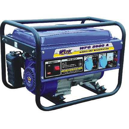 Бензиновий генератор WERK WPG 3600 A, фото 2