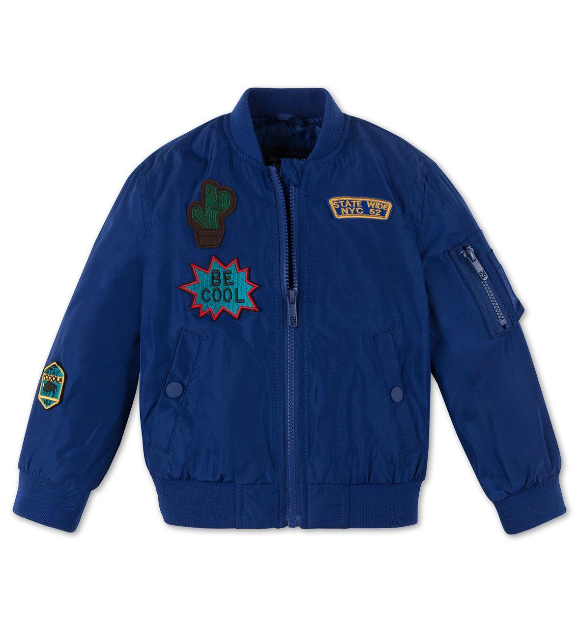 Стильная детская куртка с нашивками на мальчика C&A Германия Размер 116