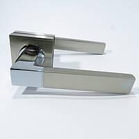 Ручка межкомнатная KEDR 08.081 SN/CP (сатин /хром)