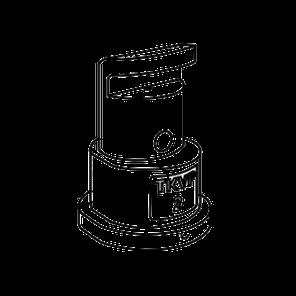 Розпилювач дефлекторні TeeJet TK-VP2 (VP1.5, VP10, VP1, VP2,5, VP3, VP4, VP5, VP7,5), фото 2