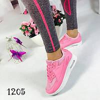 Кроссовки женские, легкость и комфорт,нежно-розовые,  для бега, женская спортивная обувь , фото 1