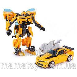 Трансформер H 602/8108 Праймбот, робот(17см) - машинка,  в коробке, 27-22-10 см