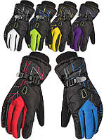 Чоловічі гірськолижні рукавички Kineed (рукавички лижні): 6 кольорів, розмір M-L/L-XL