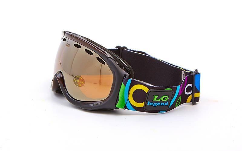 Очки лыжные Legend. Распродажа! Оптом и в розницу!