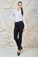 Модные женские брюки Жаклин Чёрная Размер 42-48