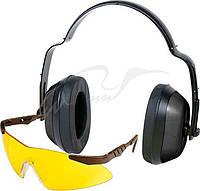 Набор Allen Safety Combo (защитные наушники и стрелковые очки с линзами из поликарбоната).