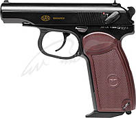 Пистолет пневматический SAS Makarov Blowback. Корпус - металл