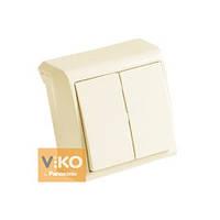 Выключатель 2-кл. крем ViKO Vera 90681202