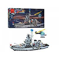 Конструктор Brick 112 Корабль 970 деталей KK