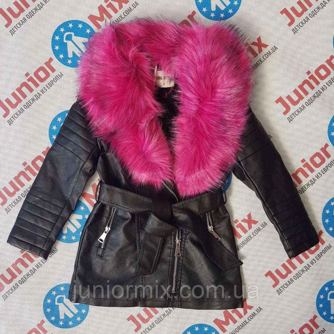 Підліткова демісезонна куртка для дівчинки оптом NOVO STYLE