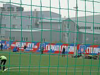 Сетка заградительная для ограждения стадионов