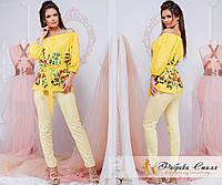 Шикарная женская блузка с вышивкой