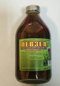 """Настойка """"Левзеи""""- для нервной системы,чрезмерная раздражительность,пониженная работоспособность - Сто витаминок в Киеве"""