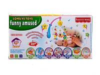 Мобиль детский свет,звук (арт. 2111), пластик, Цветная коробка, 37.50x10.00x20.50см, 0-1 лет, , 100265747 Код:03027477