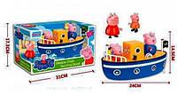Игровой набор Морские приключения свинки Пеппы 912A PEPPA PIG