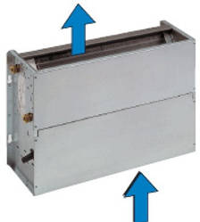 Внутренний блок напольного типа Neoclima FX-CA 130 SX 1.5 кВт