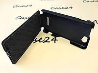 Кожаный чехол флип Tetded для Sony Xperia M / C2005 / C1905 черный