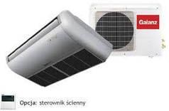 Сплит система потолочного типа GALANZ GU-18HRT/GW-18HR  5.3 кВт