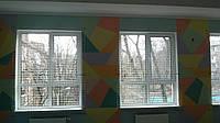 Защитная сетка на окна спортзала, фото 1