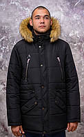 "Куртка Аляска ""Slim Canada-Parka"". Black and NAWY.Новая коллекция!"