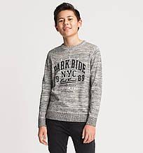 Стильный серый свитер на мальчика C&A Германия Размер 122-128