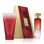 Парфюмерно-косметический набор Avon Alpha для Неё