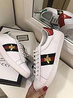 Модные женские кеды Gucci New Ace пчела