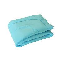 Одеяло зимнее микрофибра 200х220 Руно 52СЛБ голубое