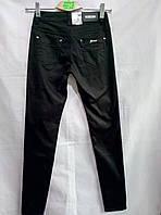 Женские молодежные черные джинсы 27-33