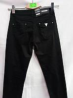 Женские молодежные черные джинсы 27-33рр