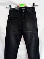 Женские молодежные черные джинсы 26-32рр