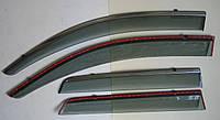 ASX 2013 ветровики с молдингом нерж сталь