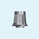 Титанове підстава для мостовидних конструкцій гвинтової фіксації (аналог CAD/CAM Zirkonzahn) з гвинтом 5,0 мм