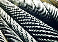 Канат из нержавеющей стали  ДИН 3053 (ГОСТ 3063-72) 16,00 мм,  Конструкция 7х19