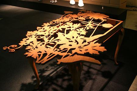 Гидроабразивная резка дерева, древесины