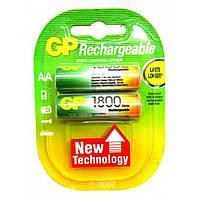 Аккумулятор GP Rechargeable R-6 1800mAh (HR6,size AA,NiMN)