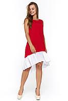 Красное летнее платье Арко