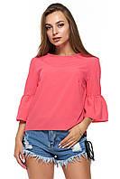 Розовая летняя блузка Дерута