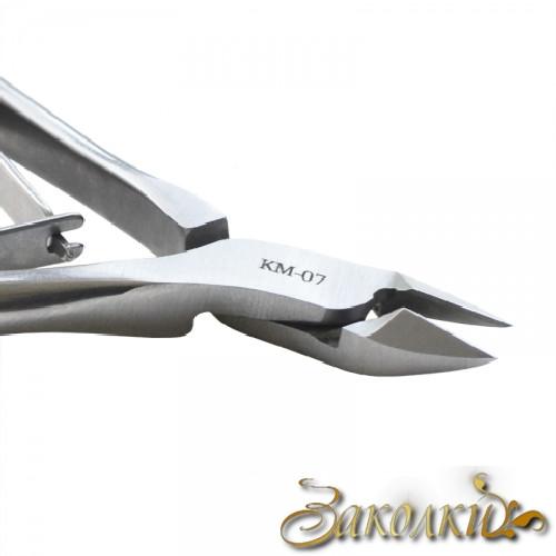 Кусачки для шкіри Сталекс, Артикул: N3-12-08 (КМ-07), Марка сталі 30Х13, Довжина ріжучої частини 8 ± 1 мм, Довжина з