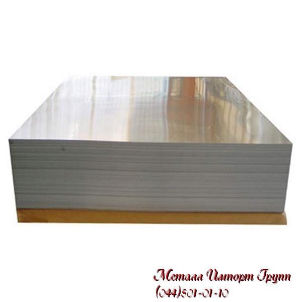 Лист 0,8х1250х3020 мм дзеркальний AISI 430(12Х17) х/к