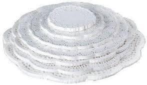 Салфетки ажурные и тарталетки бумажные для выпечки