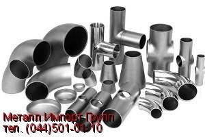 Отвод 35х1,5 мм сталь AISI 304 поверхность матовая
