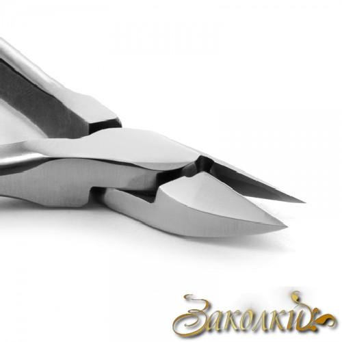 Кусачки для шкіри Сталекс, Артикул: N3-60-14 (КМ-06), Марка сталі 40Х13, Довжина ріжучої частини 14 ± 1 мм, Довжина і