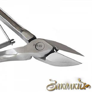 Кусачки для кожи Сталекс, Артикул: N3-60-15 (КМ-03), Марка стали 30Х13, Длина режущей части 15 ± 1 мм, Длина и
