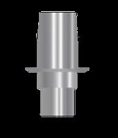 Титановое основание для одиночных конструкций аналог Sirona с винтом 5,0 мм