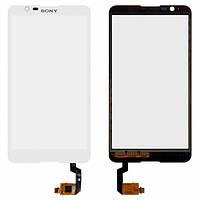 Сенсор (тачскрин) для Sony E2104 Xperia E4/E2105/E2115/E2124 белый