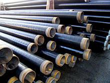 Битумная гидроизоляция стальных труб Dn 219 мм