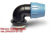 Коліно ПЕ з зовнішньою різьбою Unidelta 25х1/2 мм
